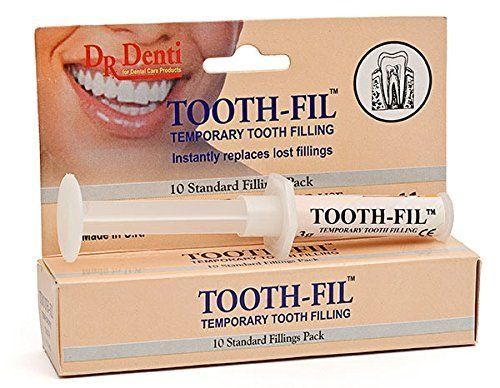 DR DENTI Tooth-Fil tooth filling material 3G with applicator - up to 10 Fillings