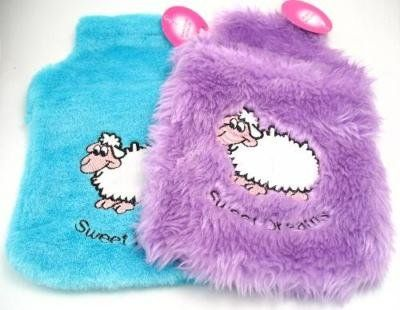 Sweet Dreams Hot Water Bottle Cover (1Pc) BLUE