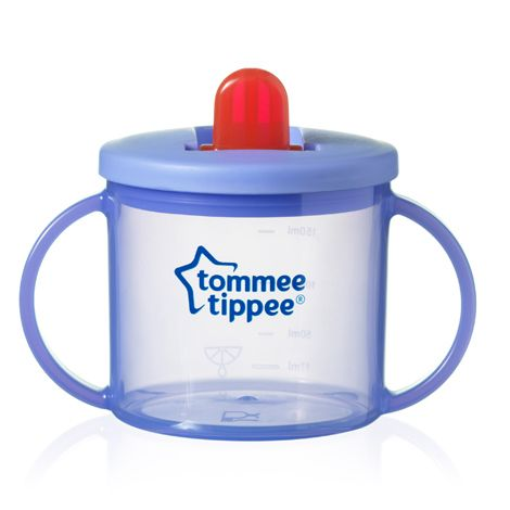 Tommee Tippee Essentials First Flip Top Cup (Lilac) TWIN PACK